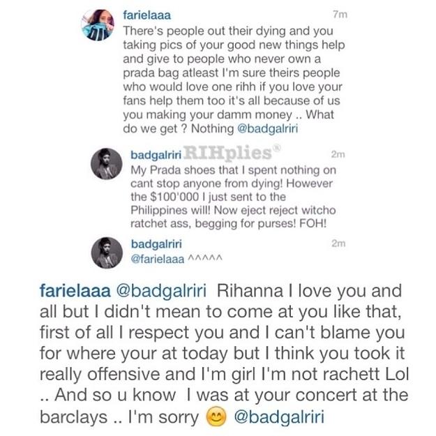 24 Reasons Rihanna Is The King Of Instagram Replies | Ticketing Box