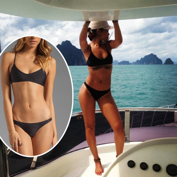 697a7b50a4f Gimme That! Rihanna's Sexy Crocheted Swimsuit | Ticketing Box Office