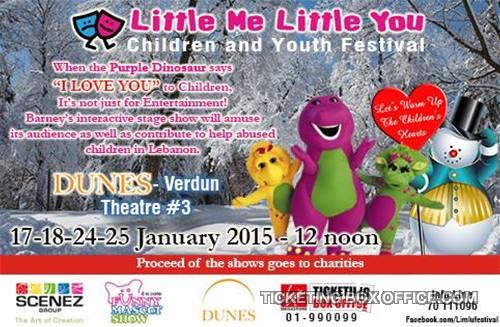 You wanna say I love you with Barney?! Buy your tickets from