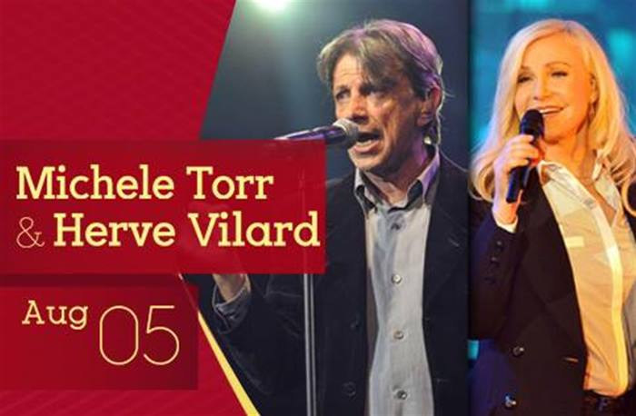 Don't miss out MICHELE TORR & HERVE VILARD at Ehdeniyat
