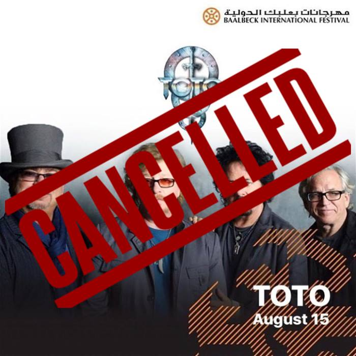 Toto concert at the Baalbeck International Festival is Cancelled ...