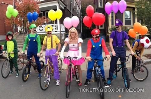 11 Awesome Group Costume Ideas To Steal This Halloween Ticketing