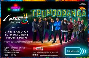 Lebanon Latin Festival presents Tromboranga, a band of 10 musicians from Spain on Sept 8.