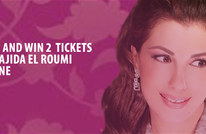 Win 2 tickets to watch Majida El Roumi at Beiteddine Art Festival on 12 August... Participate NOW!