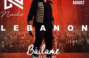 Nacho Báilame World Tour 2017, lands a foot in Lebanon, to bring you the first of its kind event