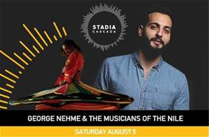 THE MUSICIANS OF THE NILE will be performing live at Stadia Cascada Festival on August 5