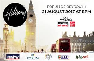 HillSong band live at Forum de Beyrouth on August 31... Tickets on sale!