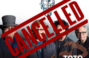 Toto concert at the Baalbeck International Festival is Cancelled