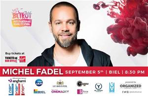 Michel Fadel live with an international orchestra at Adha Festival on September 5