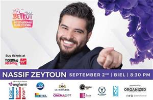 Beirut International Adha Festival Presents Nassif Zeytoun live in concert on September 2