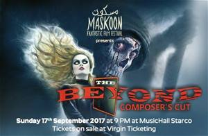 Maskoon Fantastic Film Festival Presents The Beyond Composers Cut on September 17!