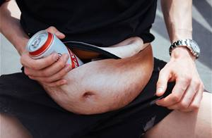 Meet the DadBag, the hairy belly fanny pack we