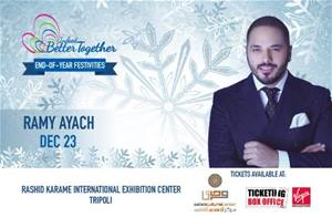 Ramy Ayach will be performing live at End of Year Festivities on Dec.23