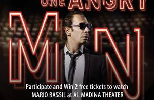 Win two free tickets to watch One Angry Man at Al Madina Theater between 9 and 19 November... Participate NOW!