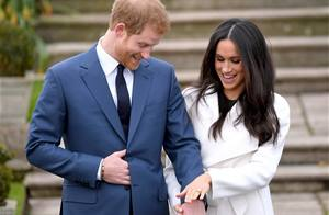 Prince Harry and Meghan Markle appear after engagement