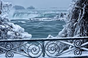Niagara Falls is a frigid wonderland