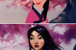 llustrator Repaints Disney Princesses In Her Unique Style