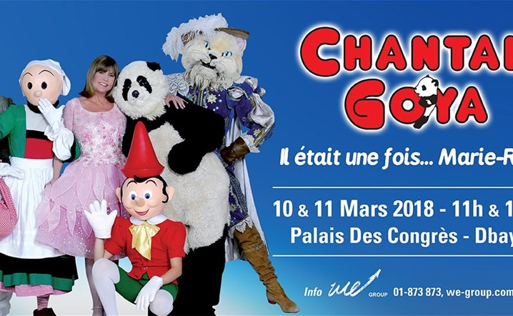We Group Presents Chantal Goya il etait une fois...Marie-Rose at Palais des congres