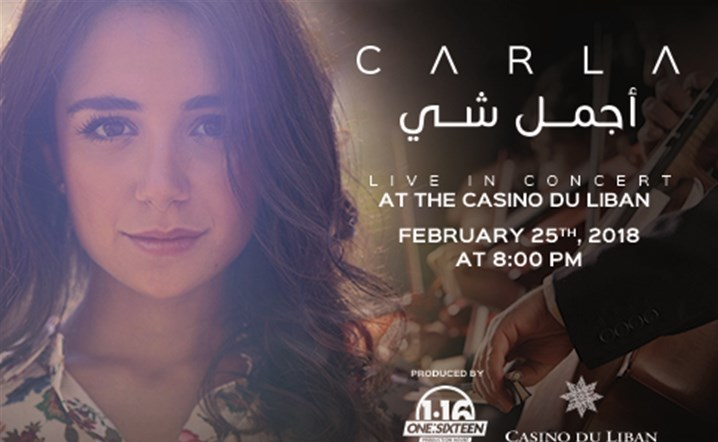 Carla Live in Concert at Casino Du Liban on February 25... Reserve your seats now!