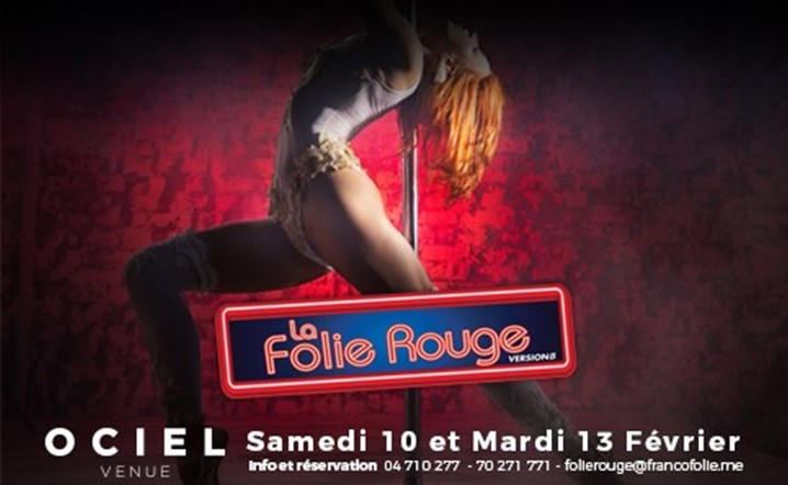 """La Folie Rouge"" is the only concept in Lebanon to combine the classy sensual ambiance with artistic and acrobatic!"