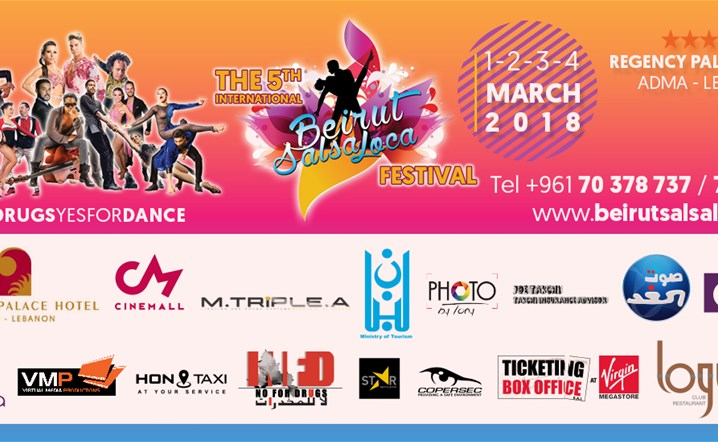 Join us & Enjoy the Best 3 Days of Beirut Salsa Loca Festival One from 02 Mar to 04 Mar... Tickets on sale!
