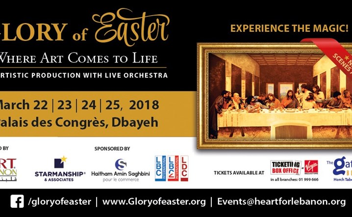 Glory of Easter at Palais Des Congres from 22 Mar - 25 Mar... Come experience the magic!