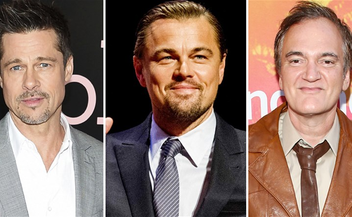 Leonardo DiCaprio and Brad Pitt in new Tarantino drama
