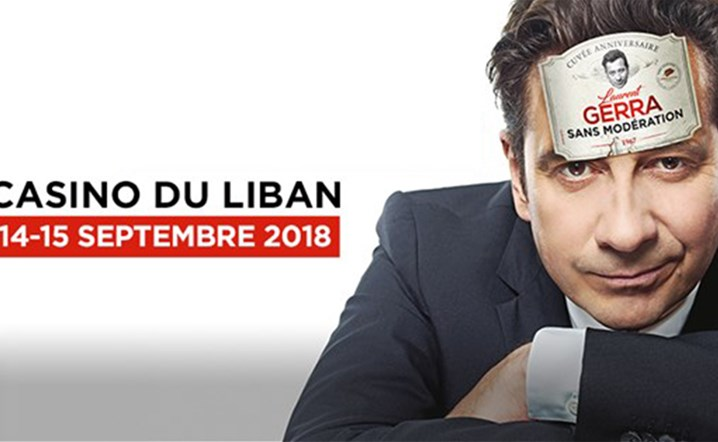 La Legende Laurent Gerra au Casino Du Liban Le 14 et 15 Septembre. Billets en vente!
