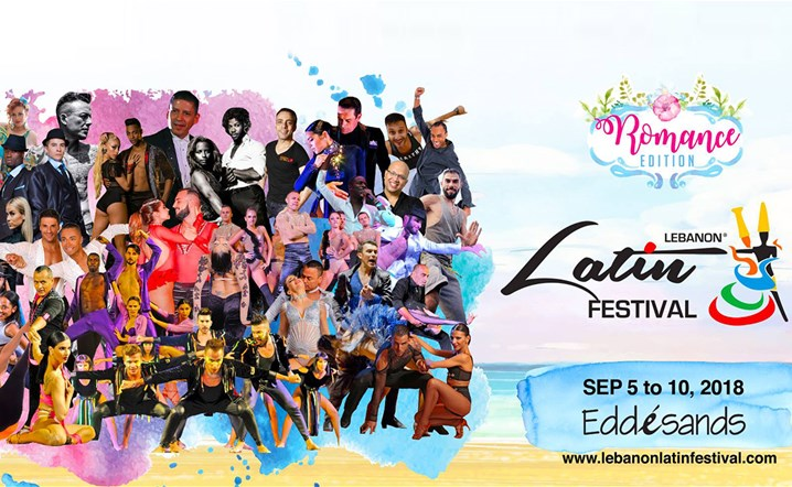 Lebanon LATIN Festival 2018 at Edde Sands Resort from 5 till 10 September