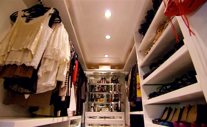 Inside Kylie Jenner Lavish Walk in Wardrobe