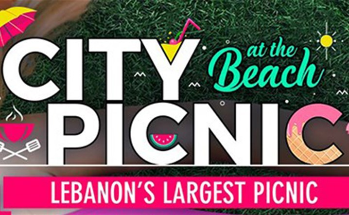"Your early summer craving is now a reality with this year's edition of City Picnic at ""The beach"""
