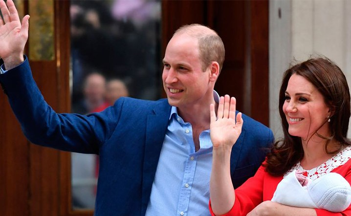 The Royal Baby's Name Might Have Been Revealed By Prince William!