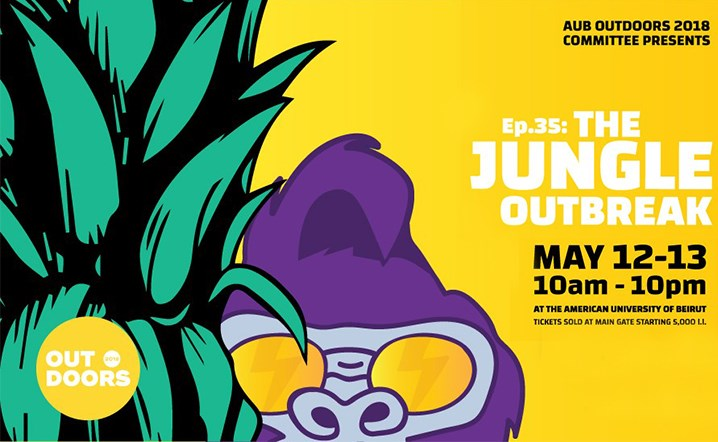 Get ready to witness AUB Outdoors' very own jungle outbreak! Tickets on sale!
