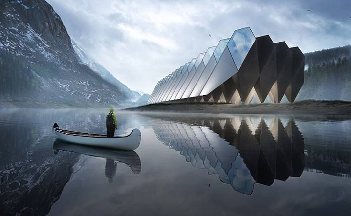 Is this the world's most futuristic looking hotelæ