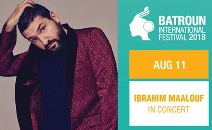 Ibrahim Maalouf live in concert at Batroun International Festival 2018