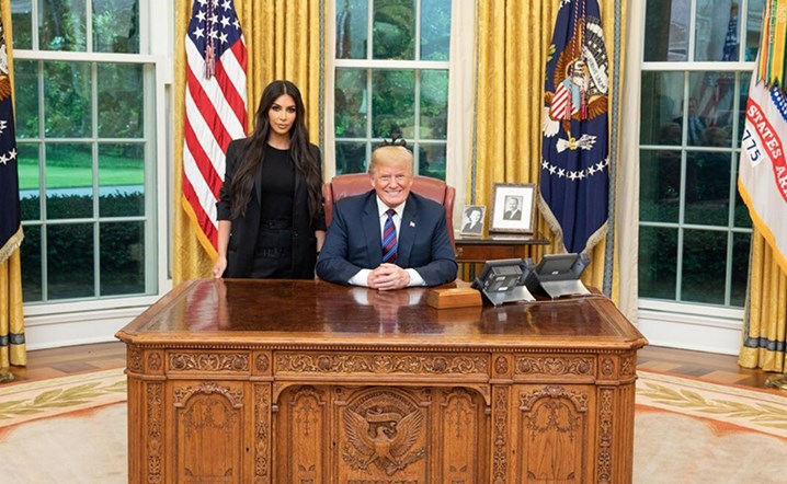 Kim Kardashian meets President Donald Trump to discuss prison reform