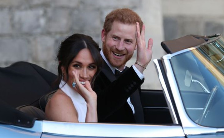 Royal wedding boosted the local economy thanks to the crowds of royal fans