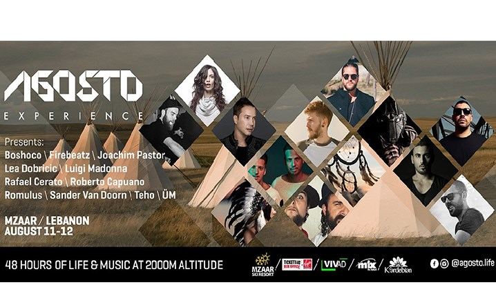 Introducing Agosto Music Festival at Mzaar Ski Resort on 11-12 August