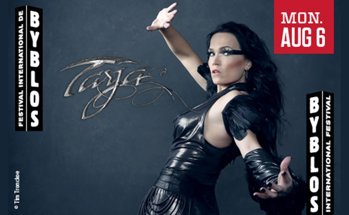 Tarja Turunen will hit the stage on 06 August at Byblos International Festival