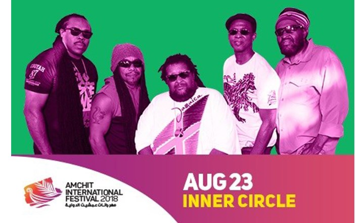 For the first time in Lebanon, The bad boys of reggae live at Amchit International Festival 2018 on August 23