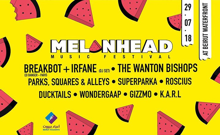 Melonhead Music Festival Coming To Beirut Waterfront on 29 July