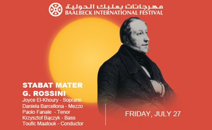 For all classical music lovers, don't miss this unique concert, Rossini's Stabat Mater
