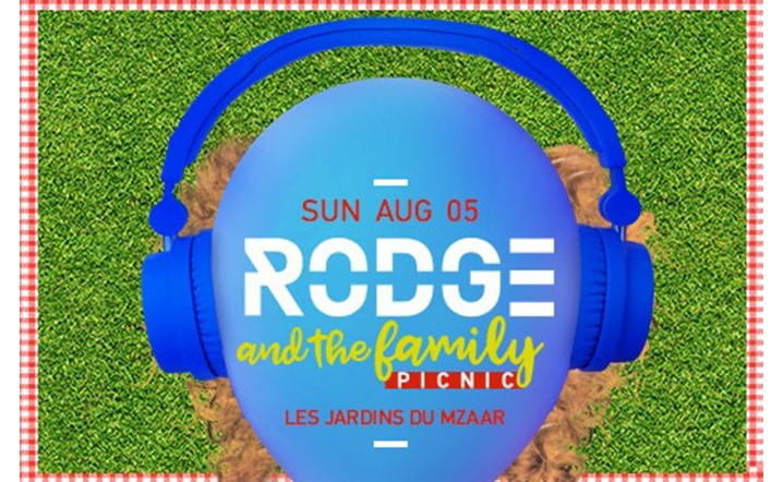 Get the whole family together and head to the Les Jardins du Mzaar for a daytime music celebration with DJ Rodge!