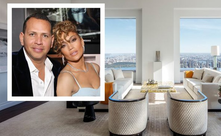 Jennifer Lopez and Alex Rodriguez purchased an apartment at the tallest residential building in the world!
