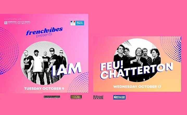 Frenchvibes presents IAM and Feu! Chatterton' live at MusicHall on 09 Oct and 17 Oct... Tickets on sale!