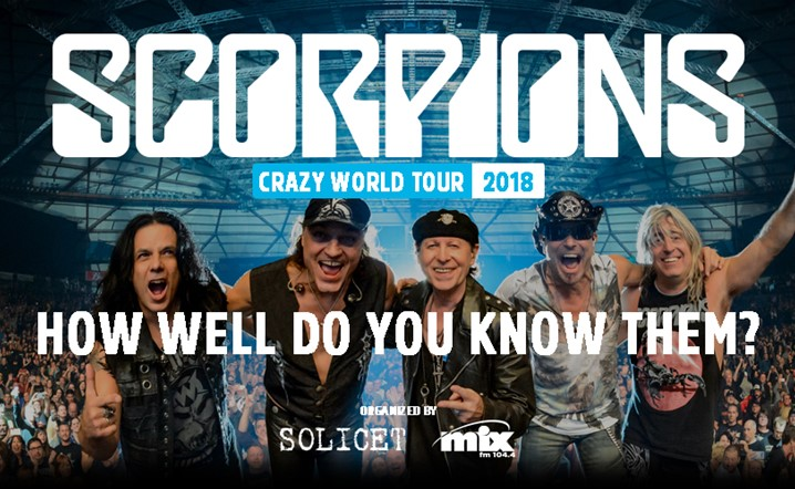 How well do you know the SCORPIONSæ
