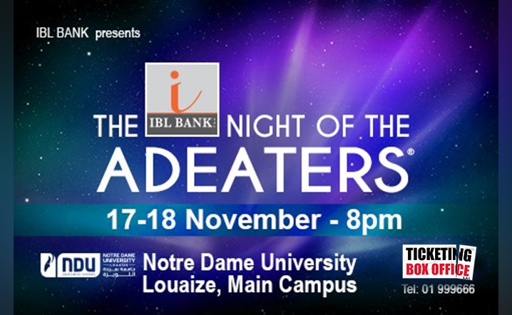 The Night Of The AdEaters from 17 Nov to 18 Nov at NDU Theatre. Book your places now!