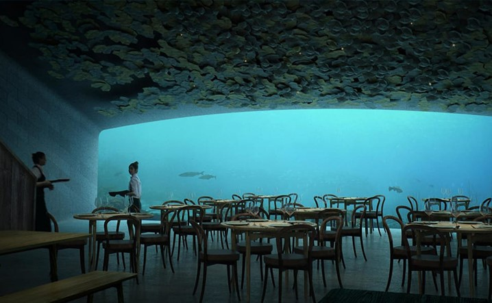 Southern Norway will be home to the world's largest underwater restaurant