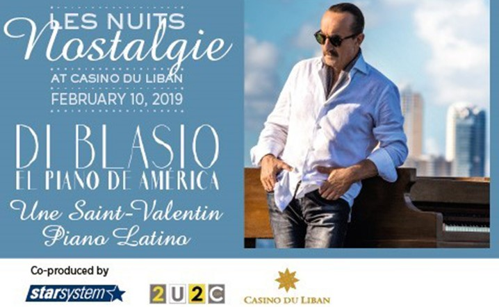 Raúl Di Blasio will be performing live at Casino Du Liban on 09 February 2019.Grab your tickets now!