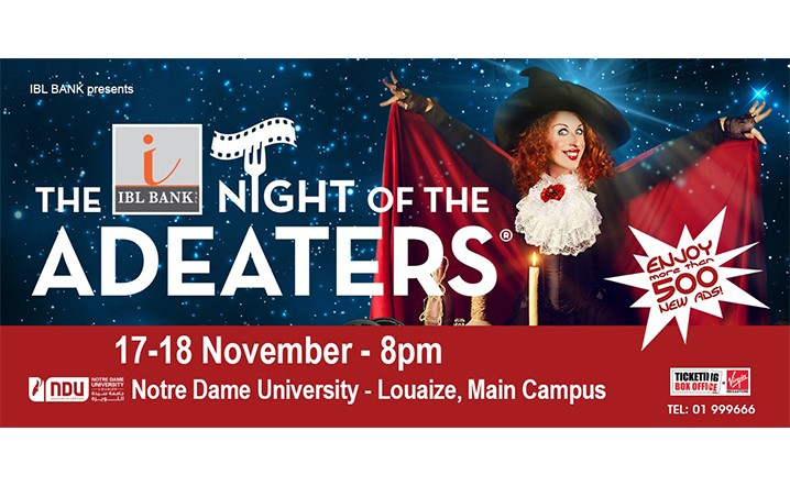 Enjoy more than 500 new ads with The Night Of AdEaters from 17-18 November 2018!